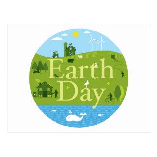 Earth Day Seal Postcard