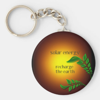 Earth day / Solar Energy Keychain