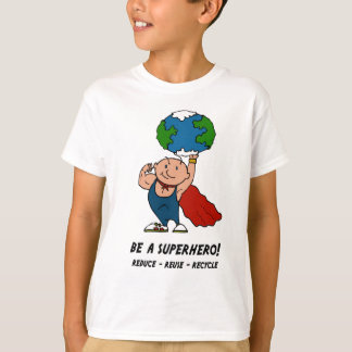Earth Day Superhero t-shirt