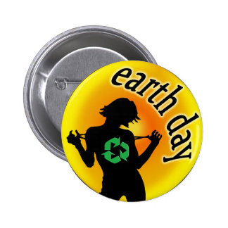 Earth Day T-Shirts Pinback Buttons