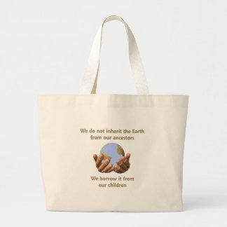 Earth Day totebag Jumbo Tote Bag