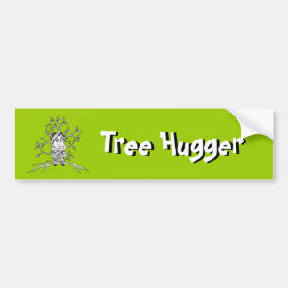 Earth Day Tree Hugger Bumper Stickers