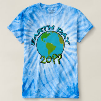 Earth Day with Custom Year T-shirt