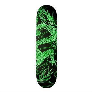 Earth Dragon Element Custom Pro Park Board Skate Deck