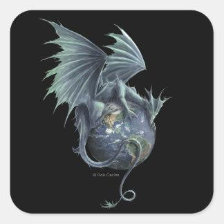 Earth Dragon Sticker