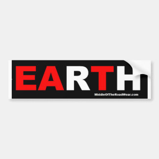 EARTH - EAT bumper sticker