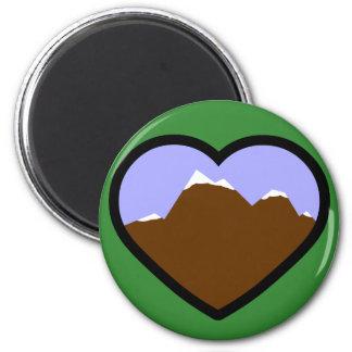 Earth Elemental Heart Magnets