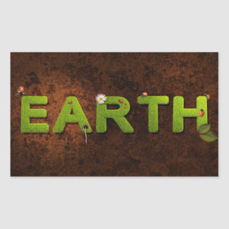 Earth, Environmental Sticker