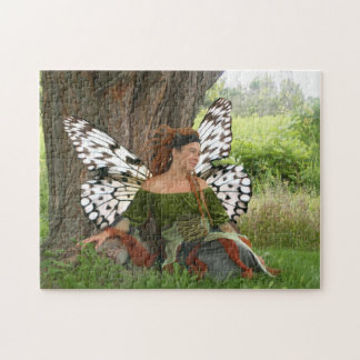 Earth Fairy Nymph Jigsaw Puzzle