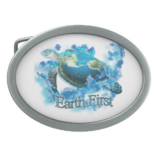 Earth First Belt Buckle