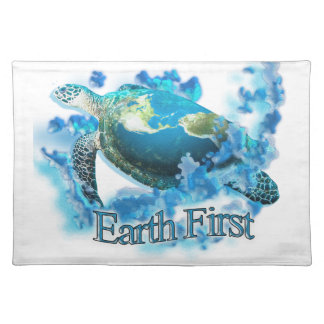Earth First Placemat