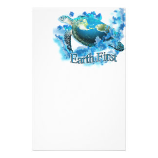 Earth First Stationery