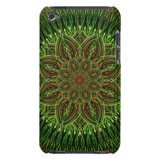 Earth Flower Mandala Barely There iPod Cases