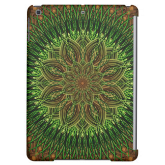 Earth Flower Mandala Case For iPad Air