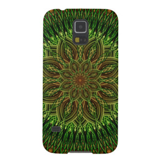 Earth Flower Mandala Cases For Galaxy S5
