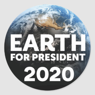 Earth for President® 2020 Rally Stickers