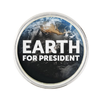 Earth for President® Lapel Pin