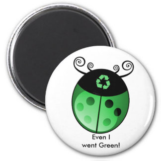 Earth Friendly 2 Inch Round Magnet