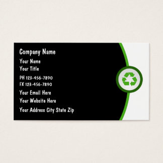 Earth Friendly Business Cards