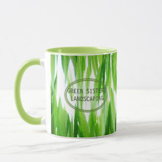 Earth Friendly Green Business Design Mug