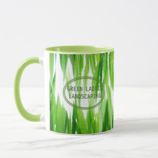 Earth Friendly Green Leaf Canopy Design Mug