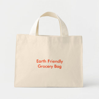 Earth Friendly Grocery Bag