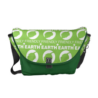 Earth friendly messenger bag