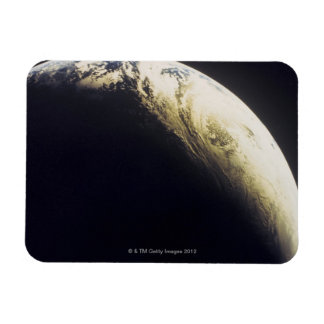 Earth from Outer Space 3 Rectangular Photo Magnet