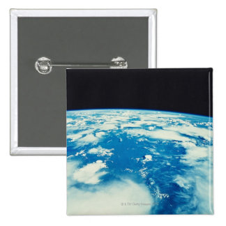 Earth from Space 12 2 Inch Square Button