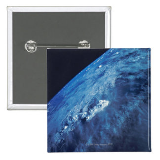 Earth from Space 26 2 Inch Square Button