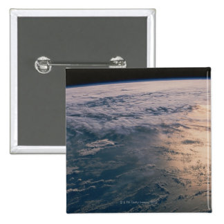 Earth from Space 32 2 Inch Square Button