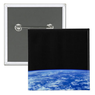 Earth from Space 3 2 Inch Square Button