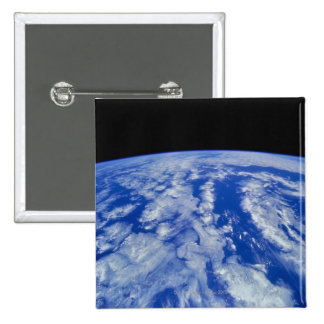 Earth from Space 8 2 Inch Square Button