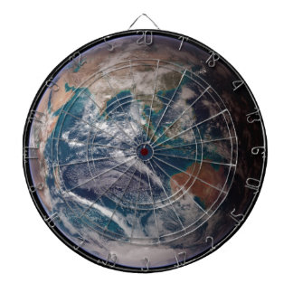 Earth From Space Dartboard