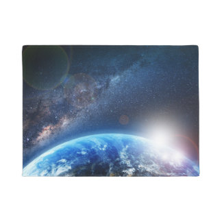 EARTH FROM SPACE DOORMAT