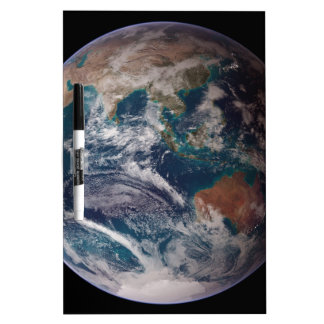 Earth From Space Dry Erase Whiteboards