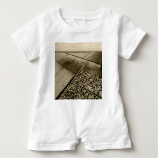 Earth from the air baby romper