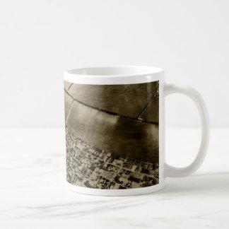 Earth from the air coffee mug