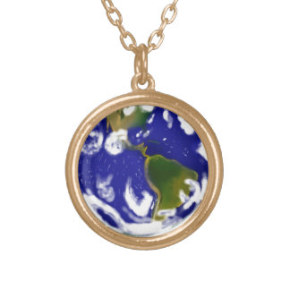 Earth Gold Plated Necklace