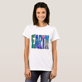 Earth graphic T-shirt for Women