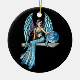 Earth Guardian Angel Ornament by Molly Harrison