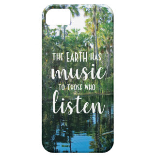 Earth has music to those who listen phone cover