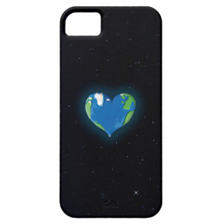 earth heart custom iphone case
