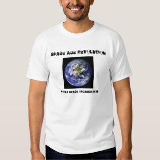 earth-image, SPACE AGE REVOLUTION, WORLD SPACE ... Shirt