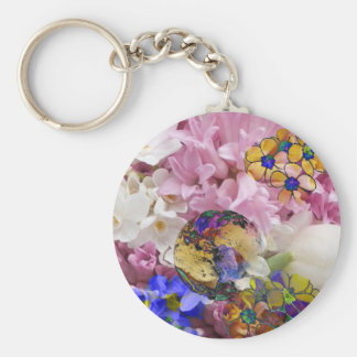 Earth in a New life Keychain