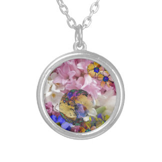 Earth in a New life Silver Plated Necklace