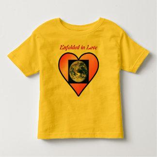 Earth in Love toddler shirt
