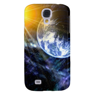 Earth In Outer Space Samsung Galaxy S4 Case