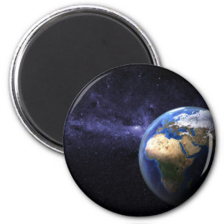 Earth in space magnet