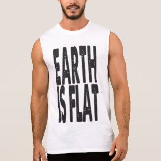 Earth is Flat - CLASSIC Sleeveless Shirt